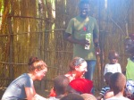 Ministering in the refugee camp