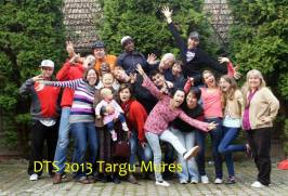 DTS 2013 in Targu Mures, Romania with all of the staff and the students.