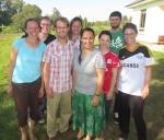 My outreach team in Uganda.