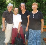 Dona, Verica, Barbara and I who went to the hospital together.