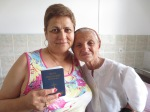 This woman miraculously received a Bible and the next day she gave her heart to the Lord!