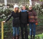 Lindsay, Marianna and I.