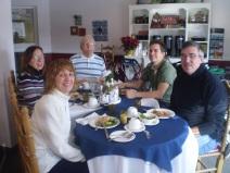 My family and Grandpa.