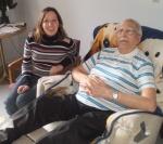 My Grandpa and I.