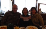 I am with my uncle Eugene and my aunt Phyllis.