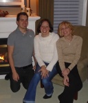 My brother Jonathan, my Mom and I.