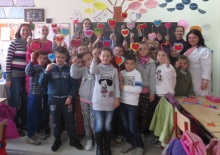 Grade 3 class we did crafts with at a public school