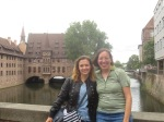 Katalin and I in Nuremberg, Germany