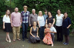 DTS Class 2015 and staff