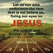 Let's run the race that Jesus has for us