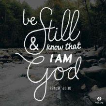 Psalm 46 v 10 2