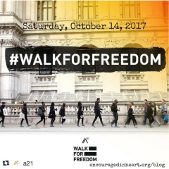 Walk for Freedom 2017