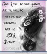 2 Corinthians 6.18